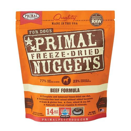 Primal Freeze Dried Nuggets - Beef | Dog (14oz)
