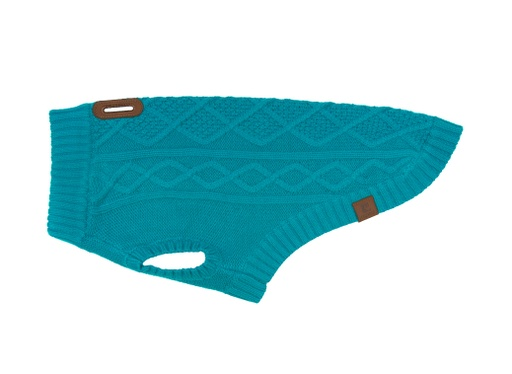 RC Pets Cable Sweater (Dark Teal)