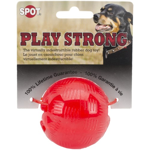 "Play Strong Rubber Ball (2.5"")"