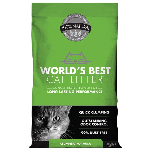 World's Best Cat Litter Unscented (14Lbs)