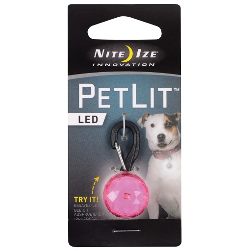 PetLit Collar Light (Pink)